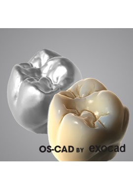 TOOTH LIBRARY - OS-CAD  BY EXOCAD