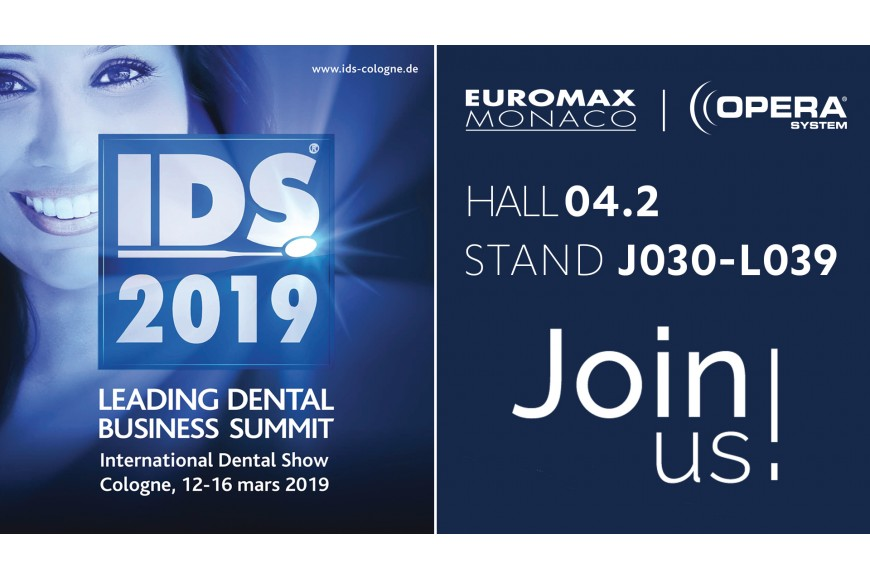 International Dental Show - IDS 2019 à Cologne