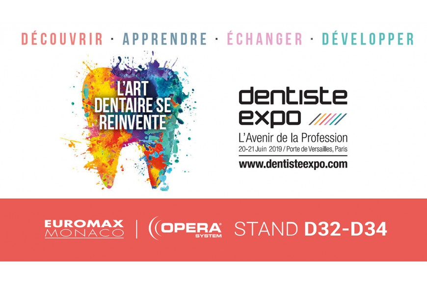 Dentiste Expo - 20 & 21 Juin - Paris - STAND D32-34