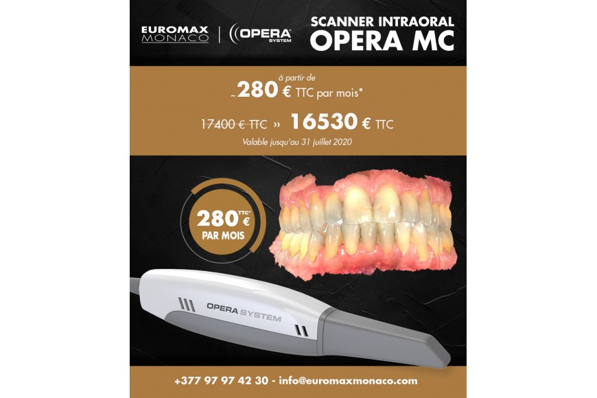Scanner Intraoral Opera MC