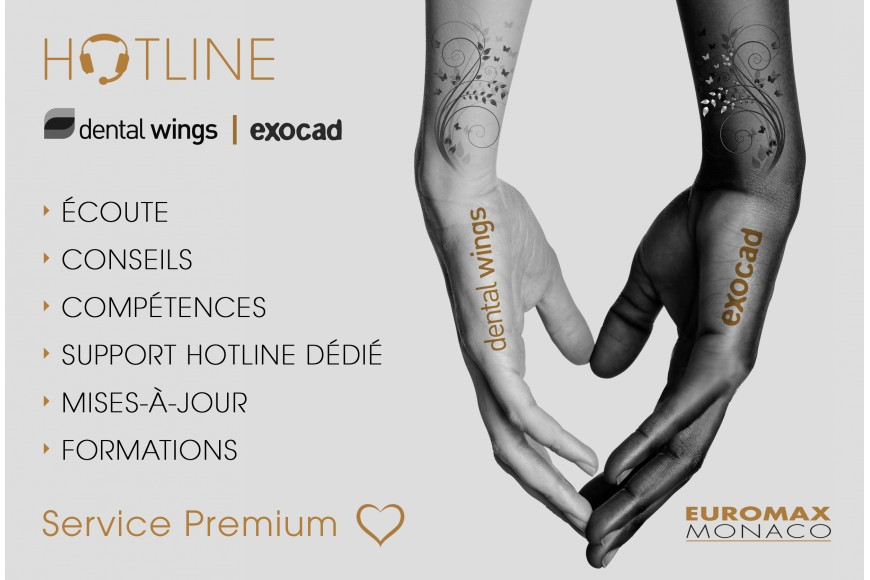Hotline Dental Wings & Exocad